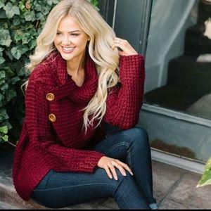 🌹FIRM🌹Hem Wrap Sweater